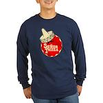 Senor Pizza Long Sleeve Dark T-Shirt