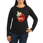 Senor Pizza Women's Long Sleeve Dark T-Shirt