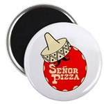 Senor Pizza Magnet