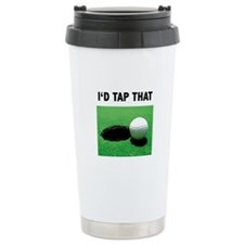 I'd Tap That Travel Coffee Mug