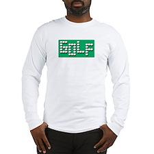 Golf Balls Sign  Long Sleeve T-Shirt