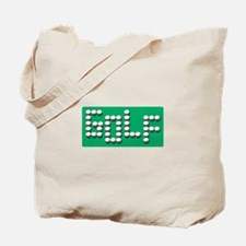 Golf Balls Sign  Tote Bag
