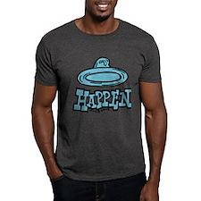 Condoms Happen (right) T-Shirt