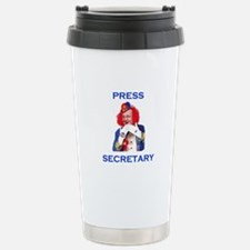 FUNNIEST SHOW IN TOWN Stainless Steel Travel Mug