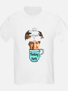 Thinking Hurts T-Shirt