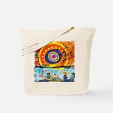 Lost Oceanic Beach Splash Tote Bag