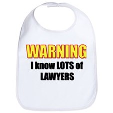 I know lawyers Bib