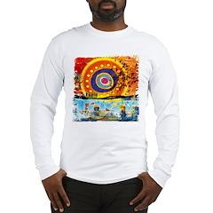 Lost Oceanic Beach Splash Long Sleeve T-Shirt