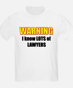 I know lawyers Kids T-Shirt
