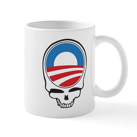 Obama Drone Skull Mug