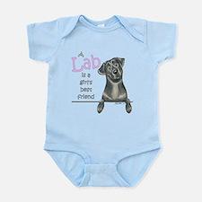 Black Lab BF Infant Bodysuit
