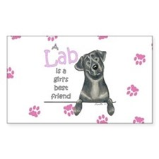 Black Lab BF Decal