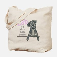 Black Lab BF Tote Bag