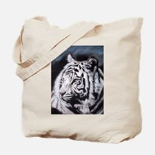 Unique White tiger Tote Bag