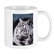 Funny White tiger Mug