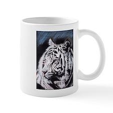 Cute White cat art Mug