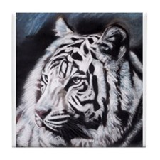 Cute Bengal tiger Tile Coaster
