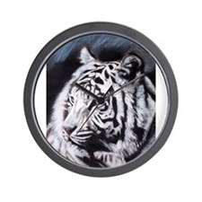 Cute Bengal tiger Wall Clock