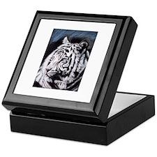 Albino-Tiger Keepsake Box