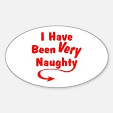 I Have Been Very Naughty Decal