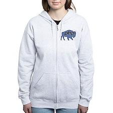 Cute Buffalophp Zip Hoodie