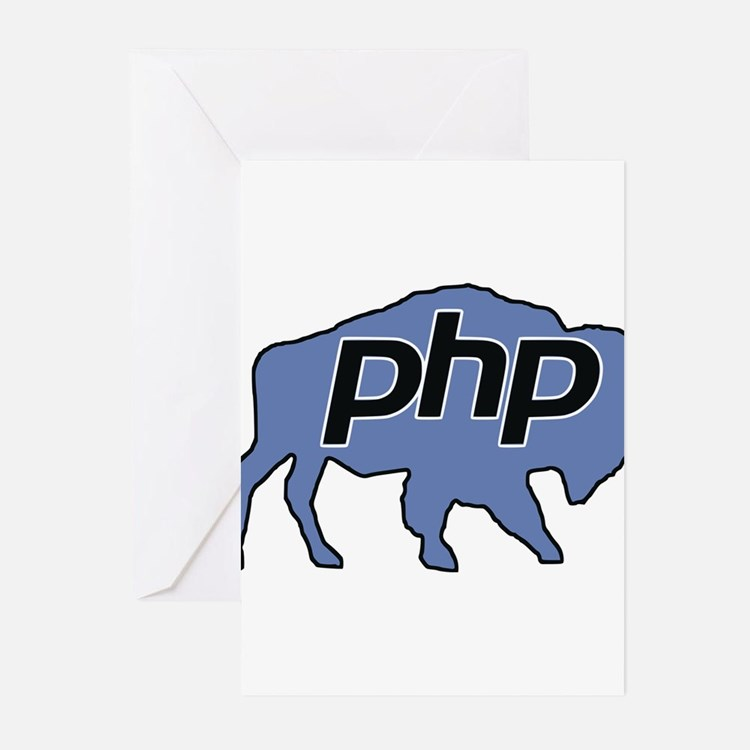 Cute Php Greeting Cards (Pk of 20)