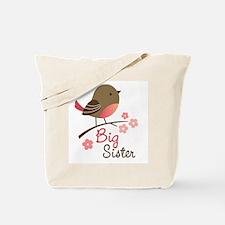 Big Sister - Mod Bird Tote Bag
