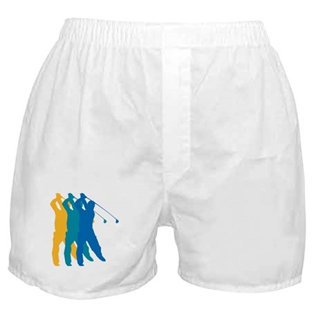 Golf Silhouette Boxer Shorts