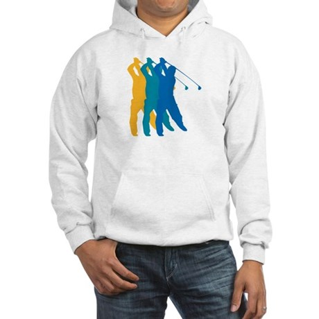Golf Silhouette Hooded Sweatshirt