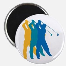 Golf Silhouette Magnet