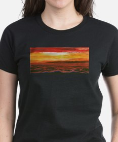 Cute Red sunrise Tee