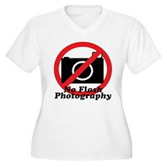 No Flash Photography T-Shirt
