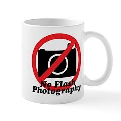 No Flash Photography Mug