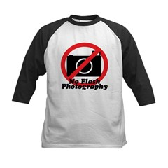 No Flash Photography Tee