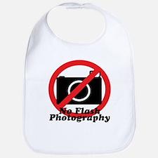 No Flash Photography Bib