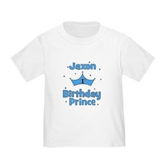 JAXON - 1st Birthday Prince T