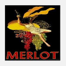 Merlot Wine Tile