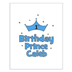 1st Birthday Prince CALEB! Posters