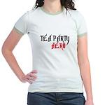 TEA PARTY HERO Jr. Ringer T-Shirt