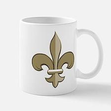 Fleur de lis black gold Mug