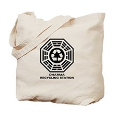 DHARMA Recycling Station Tote Bag