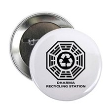 "DHARMA Recycling Station 2.25"" Button"