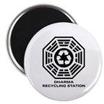 DHARMA Recycling Station Magnet