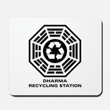 DHARMA Recycling Station Mousepad