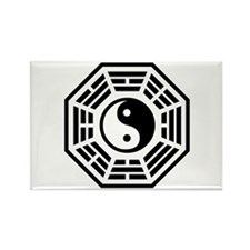 LOST DHARMA Yin Yang Rectangle Magnet