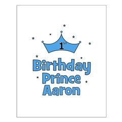 1st Birthday Prince AARON! Posters