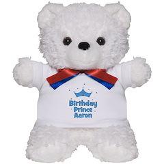 1st Birthday Prince AARON! Teddy Bear