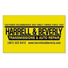 Harrell & Beverly Decal