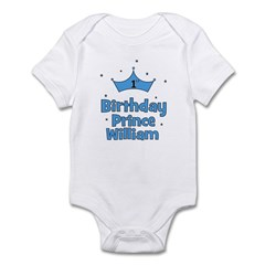 1st Birthday Prince WILLIAM! Infant Bodysuit
