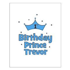 1st Birthday Prince TREVOR! Posters